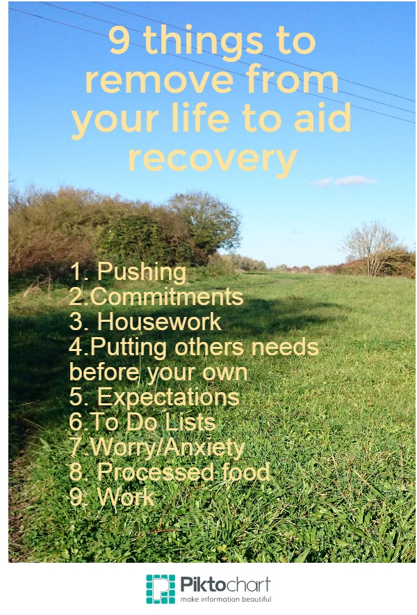 9 things to aid recovery