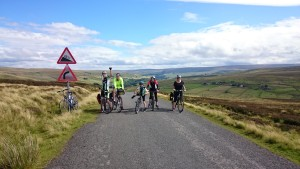 Steep hills and spectacular views - my favourite part of the ride.
