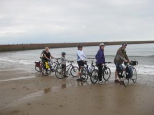 Wheels in the Water - Roker Beach